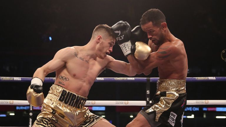 The Belfast man continued to control the fight in the closing stages