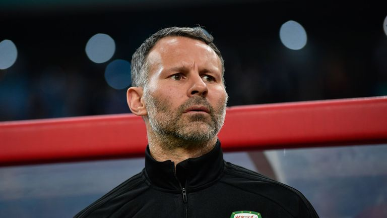 Ryan Giggs first games in charge of Wales were at the China Cup in March