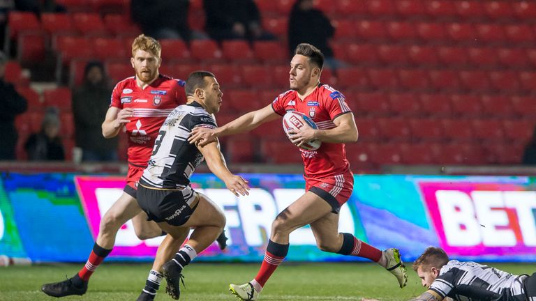 The Red Devils head on the road to the Widnes Vikings in Round 7