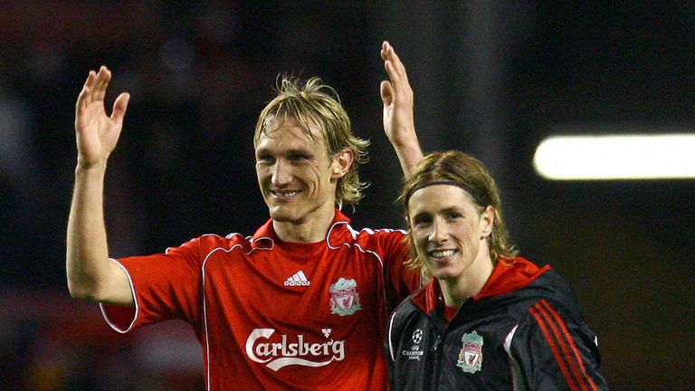 Sami Hyypia and Fernando Torres helped turn the tie around