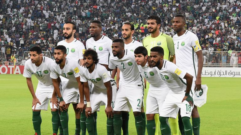 Saudi Arabia have never been beaten by England