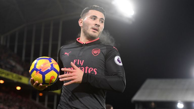 Sead Kolasinac has only started three games out of 14 since the turn of the year