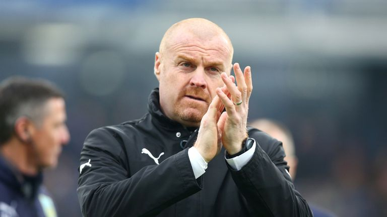 Sean Dyche tells us who he thinks should be this season's manager of the year