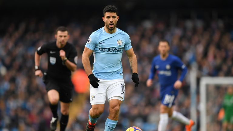 Sergio Aguero has won three Premier League titles with Manchester City