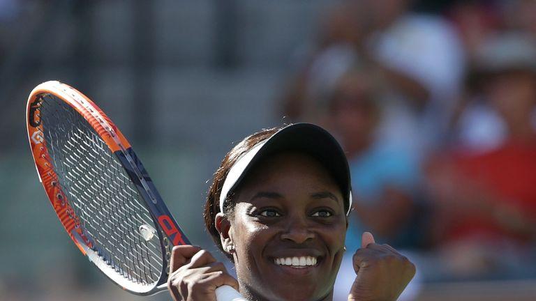 Sloane Stephens beat former world No 1 Victoria Azarenka in straight sets