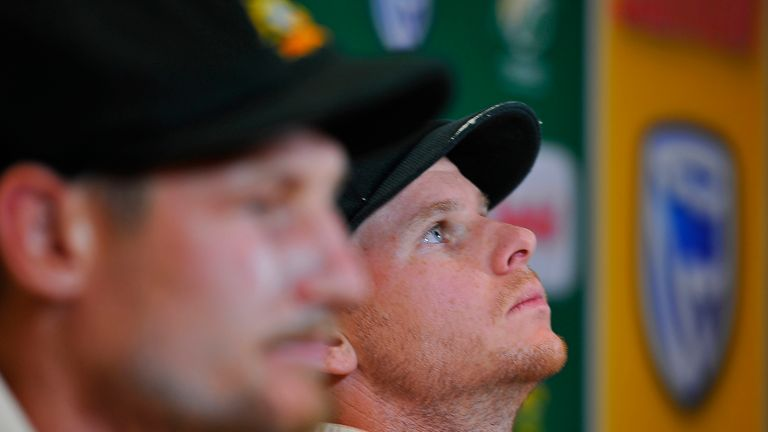 Steve Smith said he would not resign after admitting to the ball-tampering scandal