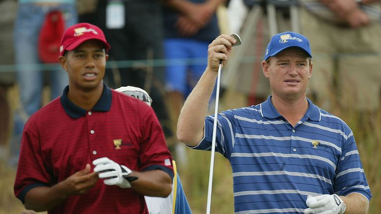 The pair played the 1998 and 2011 contests also held at Royal Melbourne