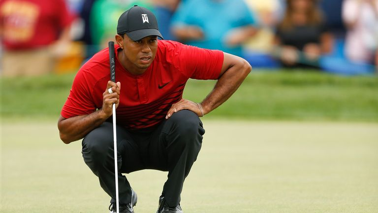 Woods shared second with Patrick Reed on the Copperhead Course at Innisbrook