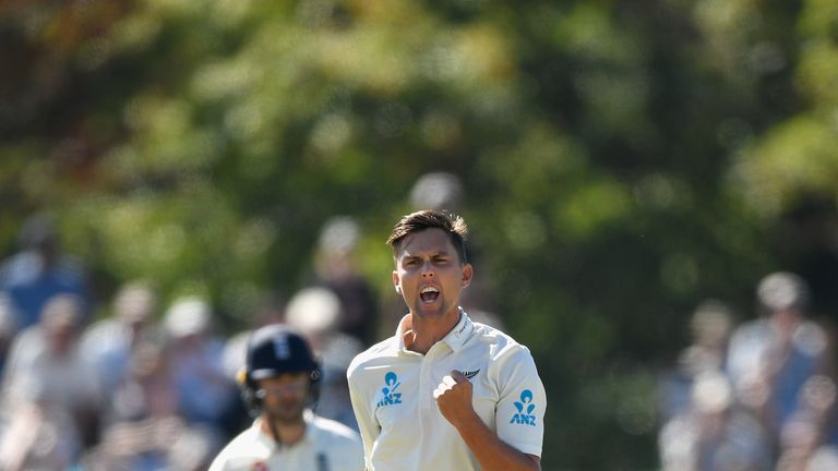 Trent Boult took Alastair Cook's wicket four times in the series