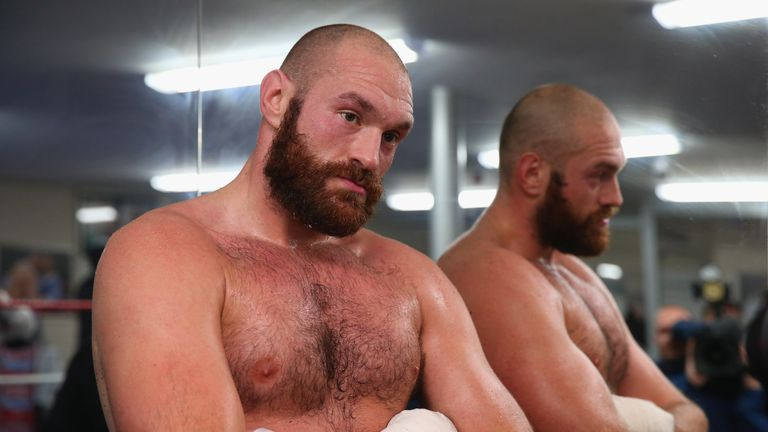 Tyson Fury will return to action on June 9 after being inactive since November 2015