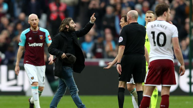 West Ham have confirmed they will hand out lifetime bans to the fans who invaded the pitch
