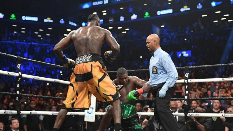 Deontay Wilder had Luis Ortiz down twice in the decisive round