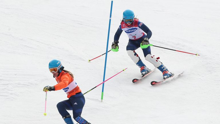 Fitzpatrick and Kehoe have won four medals in Pyeongchang to become Britain's most successful-ever Winter Paralympians