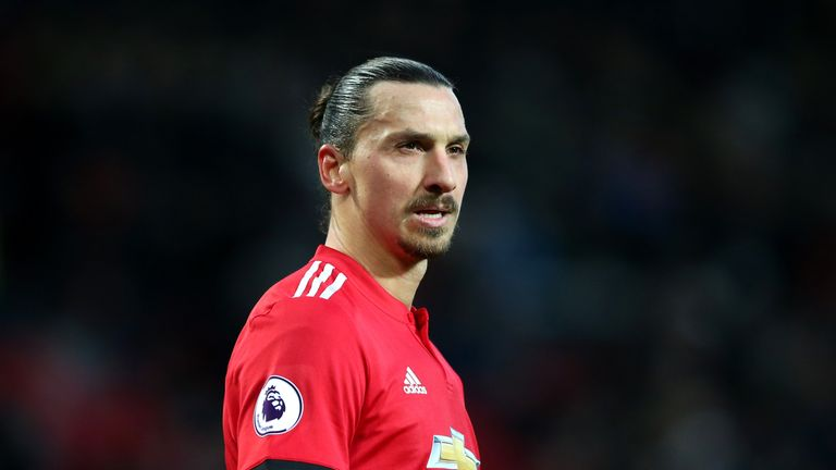 Former Manchester United striker Zlatan Ibrahimovic is now playing for LA Galaxy in MLS