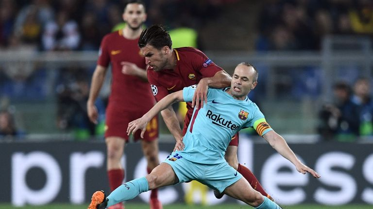 Andres Iniesta was left hurt by Barcelona's Champions League exit