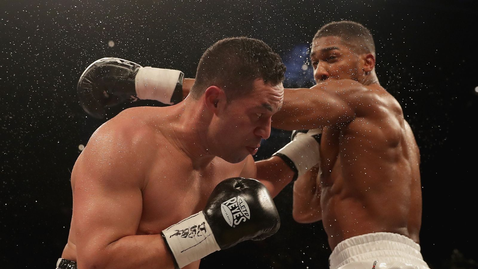 Anthony Joshua told by Joseph Parker 'I'd be more aggressive' in a rematch