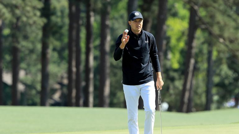 Spieth convinces himself that he owns Augusta