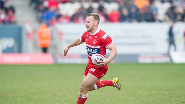 Adam Quinlan played a big part in Hull KR's try blitz