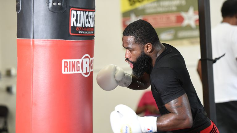 Broner was in camp away from Baltimore (Jose Pineiro/SHOWTIME)