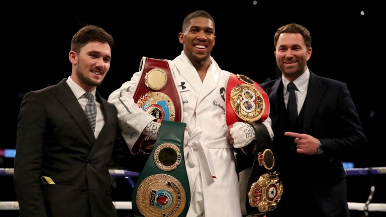 Negotiations for Anthony Joshua to fight Deontay Wilder will continue next week