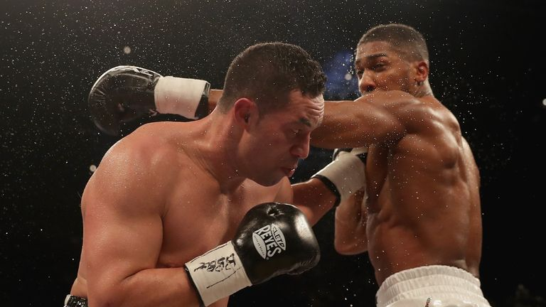Joshua had to settle for a wide points win over Joseph Parker