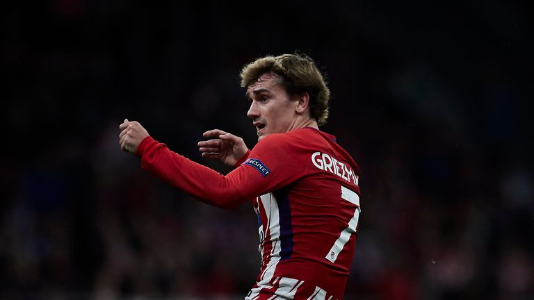 Antoine Griezmann has said he is staying at Atletico Madrid