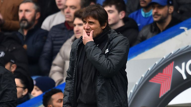 Antonio Conte's Chelsea now look set for a place in the Europa League place next season