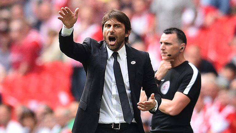 Antonio Conte's Chelsea beat Southampton 2-0 in the FA Cup final on Sunday