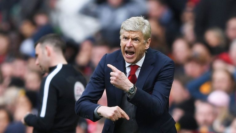 Arsene Wenger never retained the title during his time at Arsenal