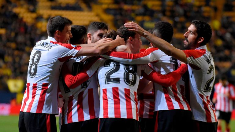 Athletic Bilbao produced an impressive display to beat Villarreal 3-1 at the Estadio de la Ceramica