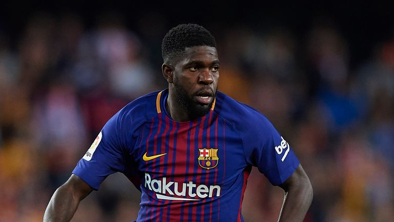 Barcelona's talks with Samuel Umtiti over a new deal are ongoing