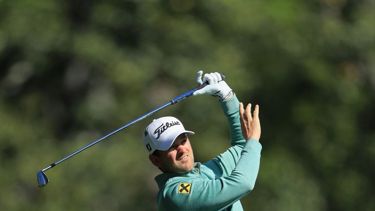 Bernd Wiesberger has not played since the end of April