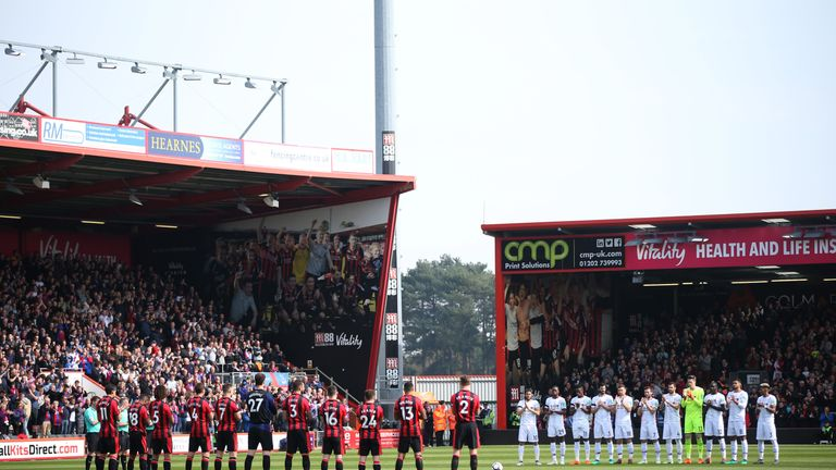 The Vitality Stadium is one of the smallest grounds in top-flight history