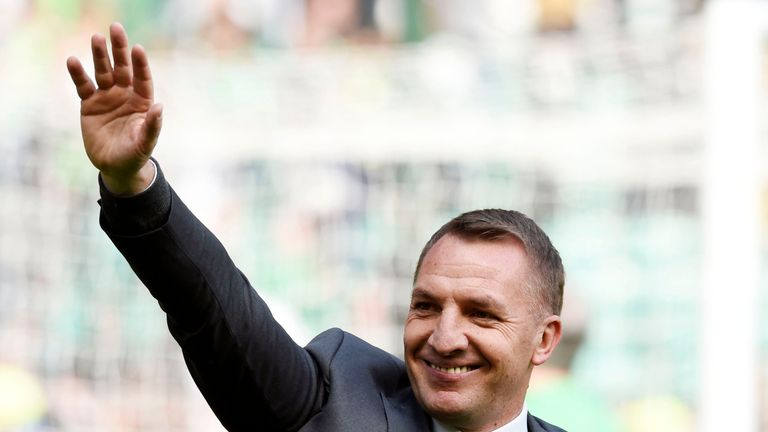 Brendan Rodgers is on the verge of leading Celtic to their second domestic treble in as many years