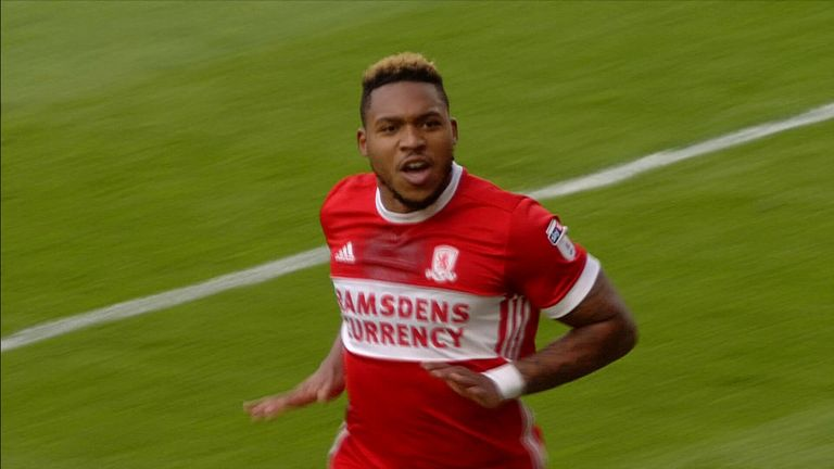 Britt Assombalonga is a 12/1 chance to be the leading goalscorer