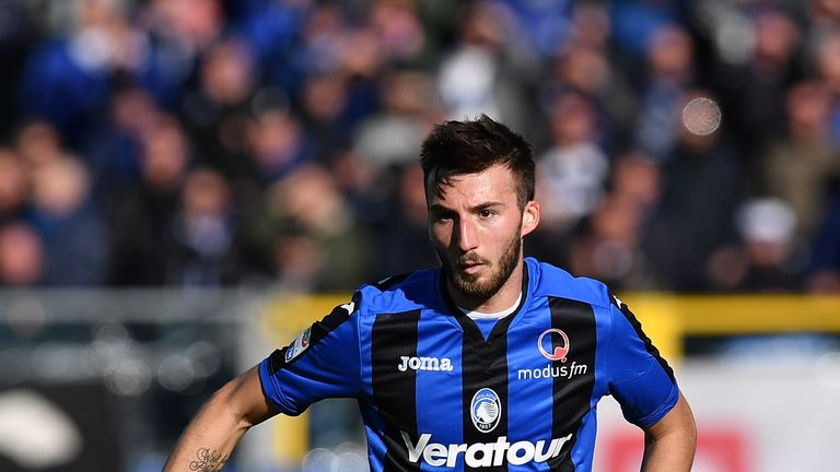 Bryan Cristante has scored 12 goals in all competitions for Atalanta this season