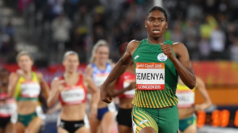 Caster Semenya has previously alleged the rules are discriminatory