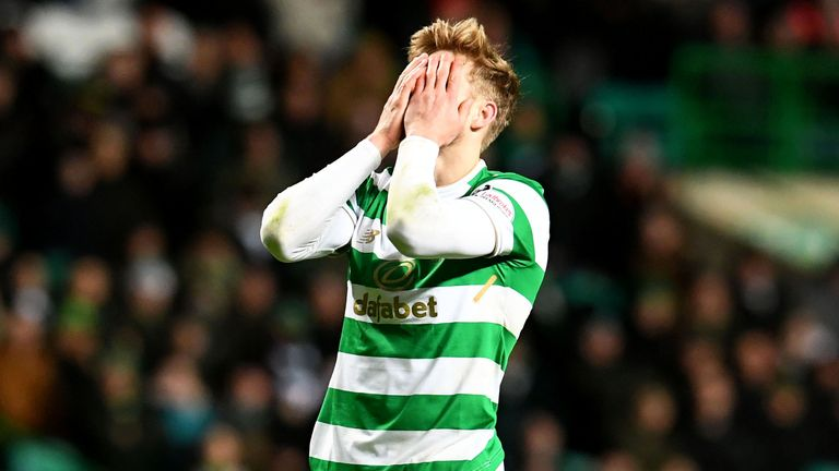 Celtic's Stuart Armstrong missed out on the first two months of 2018 due to injury