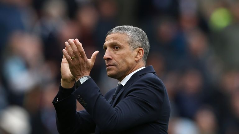 Chris Hughton was appointed by Brighton in 2014
