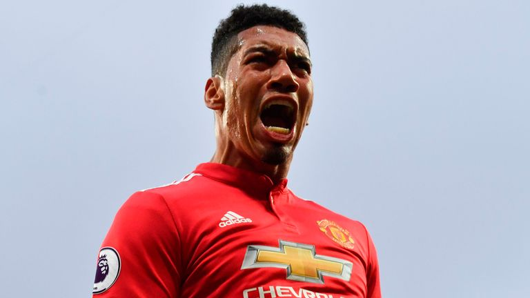 Chris Smalling has scored three goals in his last nine appearances