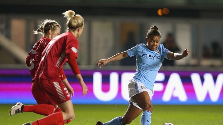 City beat Swedish side Linkoping in the quarter-finals
