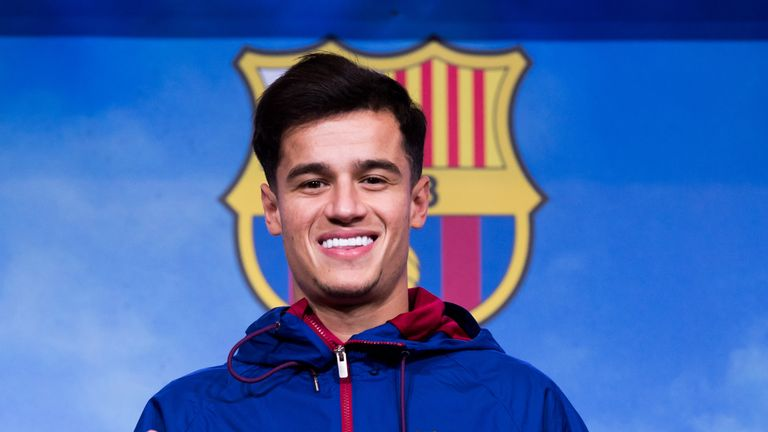 Philippe Coutinho is set for his first final as a Barcelona player