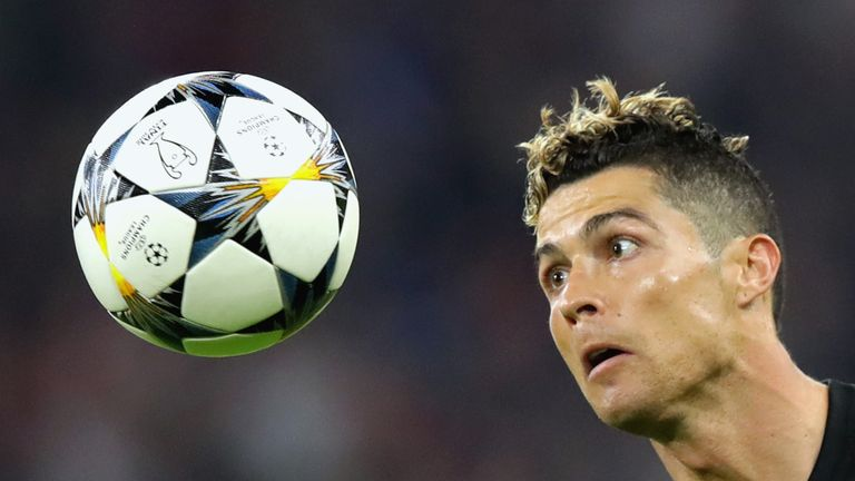 Cristiano Ronaldo and Real Madrid are looking for a third straight Champions League title