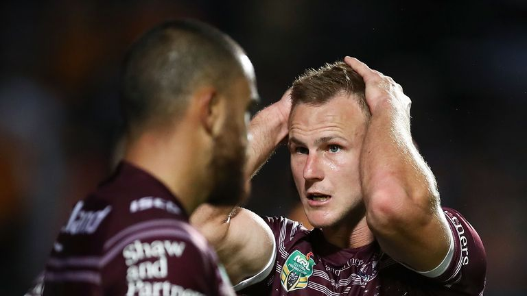 Daly Cherry-Evans was left dismayed as the Manly Sea Eagles were booed off after losing to Wests Tigers