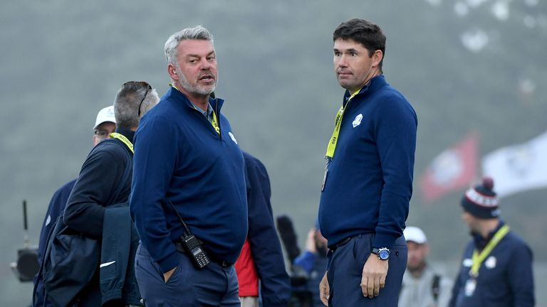 Harrington has been an assistant captain for the last two Ryder Cup contests