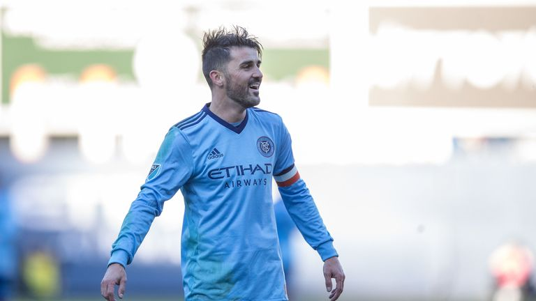 David Villa helped NYCFC to victory on Sunday (Courtesy of USA Today/MLSsoccer)