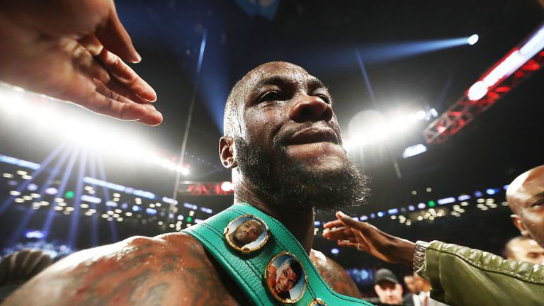 Deontay Wilder will table his own terms for a fight with Anthony Joshua