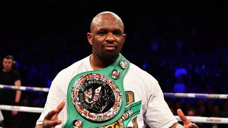 Dillian Whyte held talks with Eddie Hearn this week about his next fight