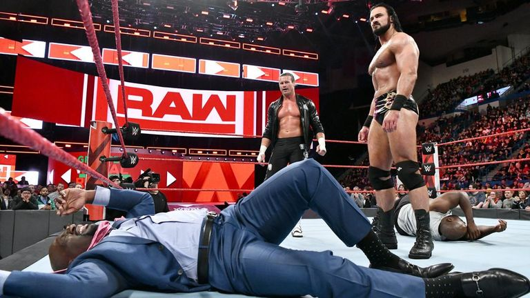 Drew McIntyre is back on the main roster at Raw - alongside Dolph Ziggler