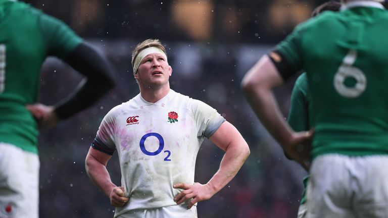 Dylan Hartley has hit back at suggestions he is struggling with injury